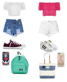 """""""Untitled #15"""" by marianacangalhas ❤ liked on Polyvore featuring Converse, WearAll, Bitching & Junkfood, adidas Originals, C. Wonder, Eastpak and Seafolly"""