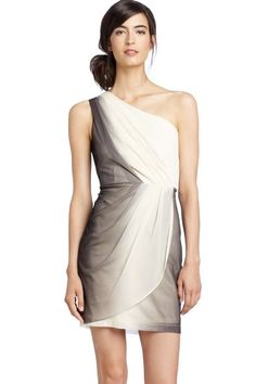 Max & Cleo - Ombre One Shoulder Dress