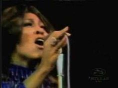 Ike and Tina Turner - Proud Mary.  Man did Tina have some legs on her!  Wow!  I am so happy she had the courage to leave Ike and the abuse he inflicted upon her.  This woman is a true survivor!