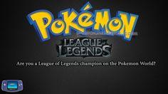 https://youtu.be/dnlI5_KbjfI Pokemon League of Legends - Gameplay