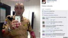 Suposto 'sangue' na foto publicada por PM é 'tinta', afirma corporação - Fornecido por BBC