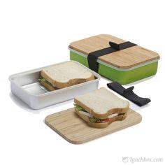 Sandwich On Board Bento Lunch Box