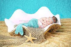 Baby+mermaid+photo+prop+Newborn+4+piece+setMade+by+WillowsGarden,+$45.00