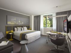 Perth Citadines St Georges Terrace Apartments Perth Australia, Pacific Ocean and Australia Located in Perth City Center, Citadines St Georges Terrace Apartments Perth is a perfect starting point from which to explore Perth. The hotel offers guests a range of services and amenities designed to provide comfort and convenience. All the necessary facilities, including free Wi-Fi in all rooms, 24-hour front desk, facilities for disabled guests, express check-in/check-out, luggage s...