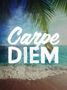 Carpe Diem | Crie seu quadro com essa imagem! https://www.onthewall.com.br/frases-e-citacoes/carpe-diem-2