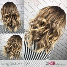 Stunning blonde Balayage by Chelsi Jones-rolfe As always, our client's hair is dried and styled with Dyson Supersonics. These amazing dryers protect your hair and reduce drying time, what more could you want! Check out our page for more examples of our Balayage work :)