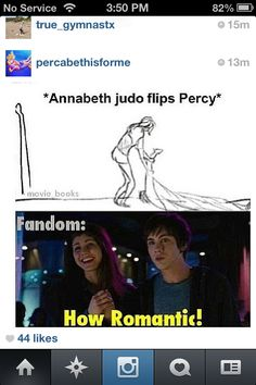 Very true. (People will think we are crazy if they don't ship PERCABETH)