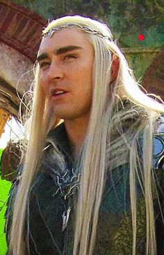 thranduil funny | ... hobbit behind the scenes Lee Pace Thranduil the desolation of smaug