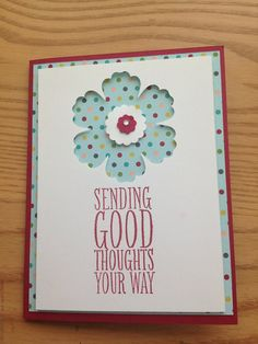 All occasion Stampin' Up card made to order FREE SHIPPING by bduwe, $2.00