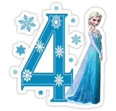 Happy Birthday Princess Frozen Clipart - Clipart Suggest Elsa Birthday, Frozen Themed Birthday Party, Disney Frozen Birthday, Disney Frozen Elsa, Frozen Party, 4th Birthday, Frozen Images, Frozen Pictures, Frozen Cupcakes