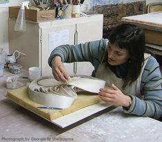 Fenella Elms ceramic artist