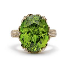 Kimberly Mcdonald, Jewelry Rings, Jewellery, Beautiful Rings, Peridot, Florence, Diamonds, Silver Rings, Bling