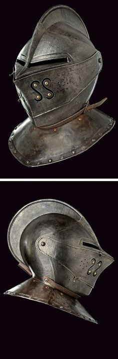 A closed helmet, provenance: Holland dating: second quarter of the 17th Century.: