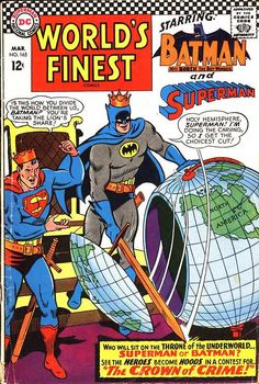World's Finest Comics 165, March 1967, cover by Curt Swan and George Klein.