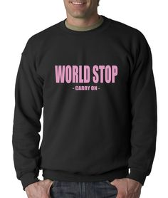 World Stop - Carry On Adult Crewneck Sweatshirt