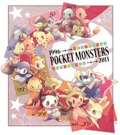 Pokemon 1996 - 2013