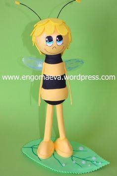 Maya Bee. Original gift. Present Birthday  ---   Abeja Maya. Regalo original. Regalo de Cumpleaños