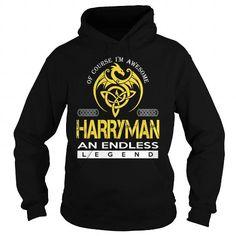 I Love HARRYMAN An Endless Legend (Dragon) - Last Name, Surname T-Shirt T shirts