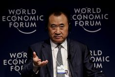 Wang Jianlin remains China's richest person, according to the Hurun Report. (Flickr/World Economic Forum)