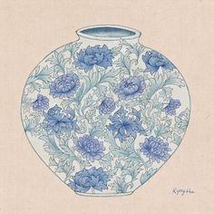 그림닷컴, No 1 그림쇼핑몰 6th Grade Art, Chinese Design, Korean Art, Textile Design, Inktober, Flower Art, Folk Art, Graphic Art, Art Projects