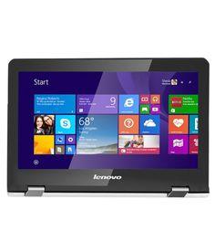 Lenovo Yoga 300 2-in-1 (80M00011IN) (Intel Pentium Quad Core- 4GB RAM- 500GB HDD- 29.46 cm (11.6) Touch- Windows 8.1) (Black)