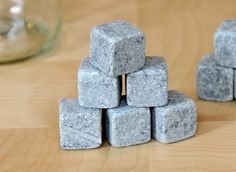Whiskey Stones | Use them like ice cubes, except they don't melt
