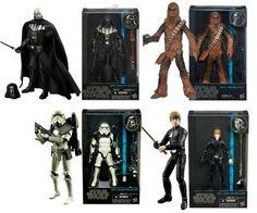 Star Wars Black Series 6 Inch Action Figures Wave 5 Sealed Case  #Hasbro