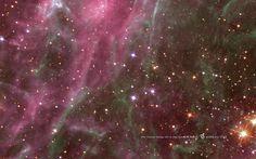 Star Cluster in the Tarantula Nebula