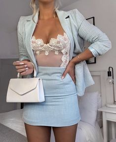 womens fashion Lace Bodysuit - Miss. Classy Outfits, Chic Outfits, Trendy Outfits, Fashion Outfits, Womens Fashion, Latest Fashion, Trending Fashion, Spring Outfits, Fashion Trends