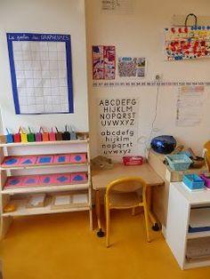 Ma classe d'inspiration Montessori - novembre 2017