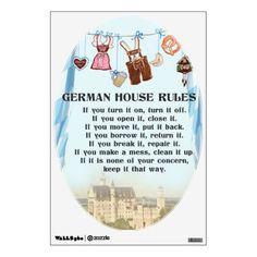 German House Rules D