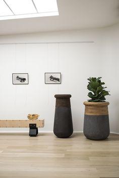 Striking Soma planters from Indigenus www.indigenus.co.za Designed by Laurie Wiid van Heerden of Wiid Design http://www.wiiddesign.co.za  Launching at 100% Design London in September 2015.