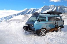 TheSamba.com :: Gallery - Syncro in the Snow
