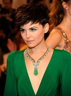 Ginny spiked pixie - I totally own this haircut. :)