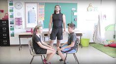 Bouge en classe avec Jeunes en santé #15 Zumba, Yoga, Baby Strollers, Gym, Dance, Children, Youtube, Physique, French