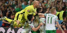 Cuplikan Gol : Italia 0-1 Republik Irlandia 23 Juni 2016 (Euro 2016)