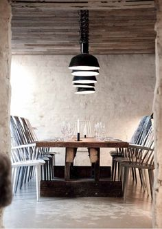 """Höst"": the world's best design restaurant 2013 by Norm Architects"