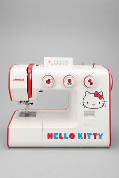 Hello Kitty Sew Cute Sewing Machine  #UrbanOutfitters