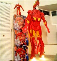 Remote controlled flying Iron Man suit for Robert Downey Jr.