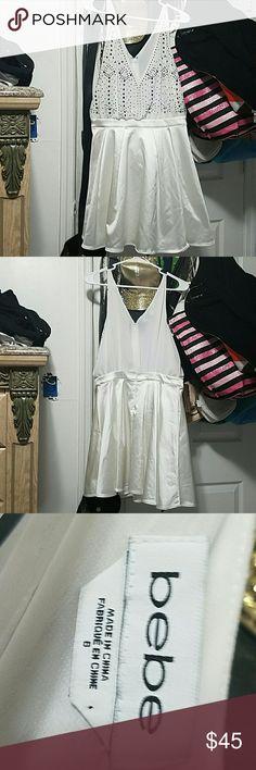 Bello vestido y fino Satinado abajo y arriba transparente bebe Dresses Midi