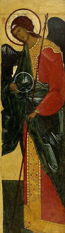 The Archangel Gabriel. Around the year 1500 - the beginning of the XVI century. Rostov.