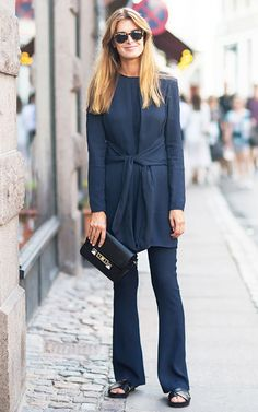 Monochromatic fashion will never go out of style. Outfits in the same color from head to toe make you feel taller, thinner and stylish. Fashion Mode, Fashion Outfits, Womens Fashion, Fashion 2018, Blue Fashion, Pretty Outfits, Cool Outfits, 2016 Fashion Trends, Looks Chic