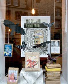 "Golden Hare, Edinburgh, Scotland -- ""Who doesn't love a good Plath-centric display? Plus, presents."""