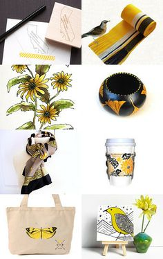 Black Eyed Susan by Charlene on Etsy--Pinned with TreasuryPin.com