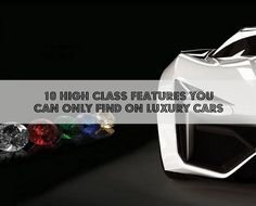 If you had the money would you get any of these cool features? 'Top 10 Outragous Luxury Car Featues'. Click to be blown away #spon