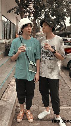 Cute Love Stories, Cute Gay Couples, Ulzzang Couple, Thai Drama, Dream Boy, We Meet Again, Actor Model, Fujoshi, Asian Boys