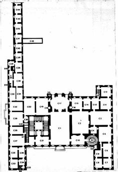 PALAZZO BARBERINI PLANS « First Floor Plans
