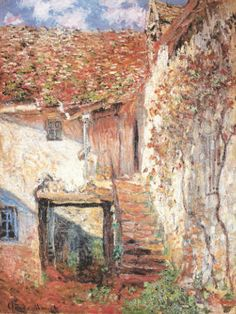 Claude Monet - Die Treppe