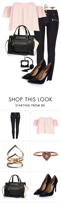 """""""Untitled #1344"""" by raidarianascloset ❤ liked on Polyvore featuring River Island, Gorjana, Topshop and Victoria's Secret"""