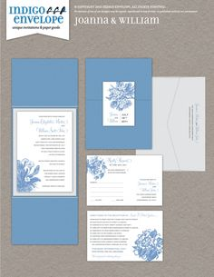 We love using vintage letterpress etchings of plants from old botanical dictionaries. We have just about any flora you would want in our graphics files. #botanicalwedding #indigoenvelope